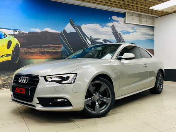 2014 Audi A5 2.0 TDi S-LINE AUTO 69000KMS PAN ROOF FSH Gauteng Benoni_0