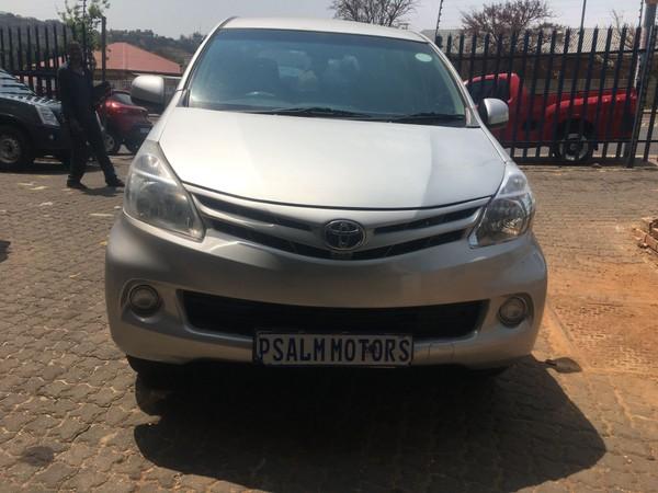 2014 Toyota Avanza 1.5 Sx  Gauteng Johannesburg_0