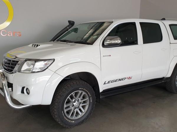 2015 Toyota Hilux 3.0 D-4D LEGEND 45 4X4 Auto Double Cab Bakkie Mpumalanga Mpumalanga_0