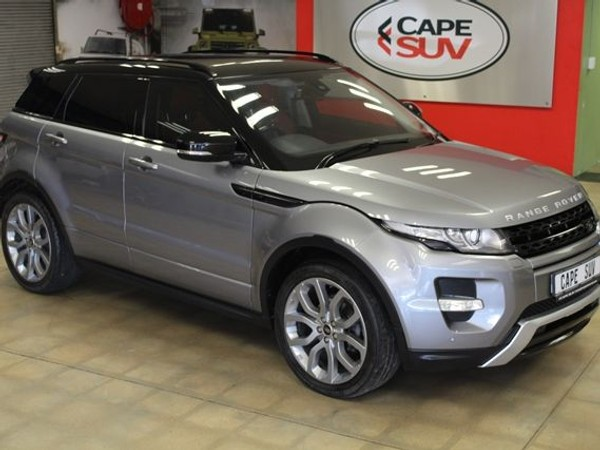 2013 Land Rover Evoque 2.2 Sd4 Dynamic  Western Cape Brackenfell_0