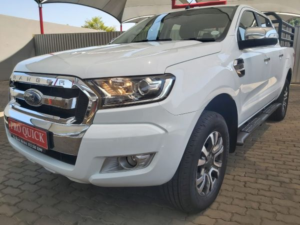 2017 Ford Ranger 3.2TDCi XLT 4X4 Auto Double Cab Bakkie Gauteng Pretoria_0