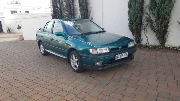 1997 Nissan Sentra 1.6 Sgli At Face Lift  Gauteng Four Ways_0