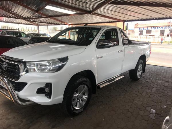 2018 Toyota Hilux 2.8 GD-6 RB Raider Single Cab Bakkie Gauteng Jeppestown_0