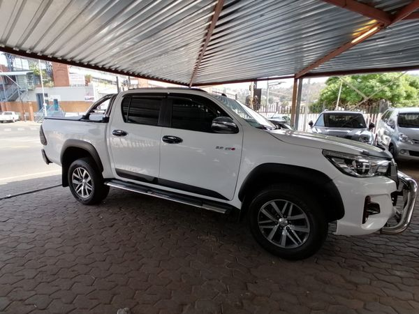 2018 Toyota Hilux 2.8 GD-6 RB Auto Raider Double Cab Bakkie Gauteng Jeppestown_0