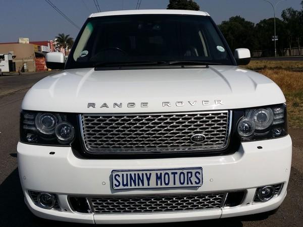 2013 Land Rover Range Rover Se 5.0 V8 Sc  Gauteng Kempton Park_0