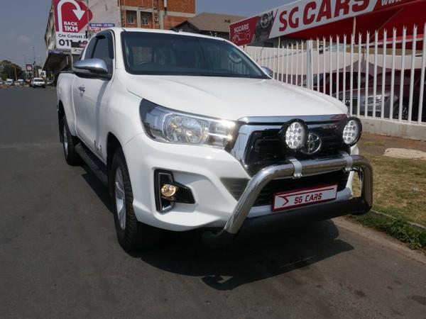 2018 Toyota Hilux 2.8 GD-6 RB Raider Extended Cab Bakkie Gauteng Johannesburg_0