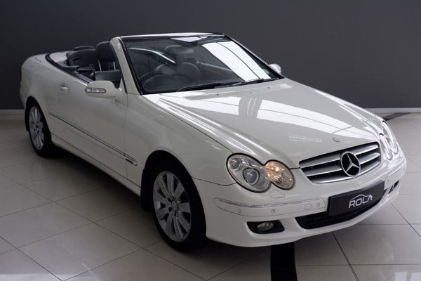 2006 Mercedes-Benz CLK-Class Clk 350 Cabriolet At  Western Cape Somerset West_0