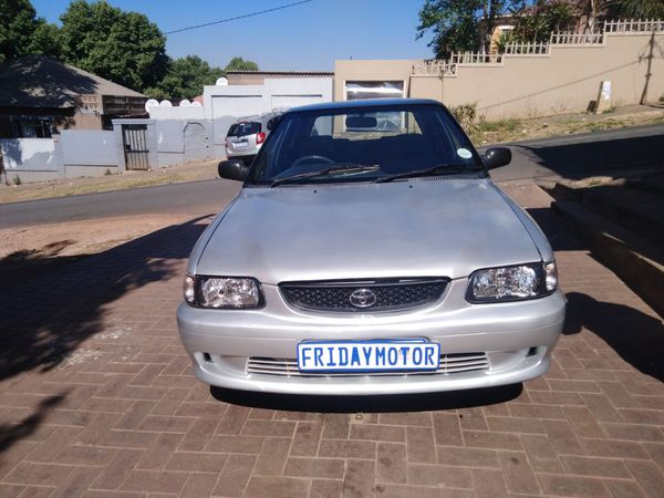 2002 Toyota Tazz 130  Gauteng Johannesburg_0