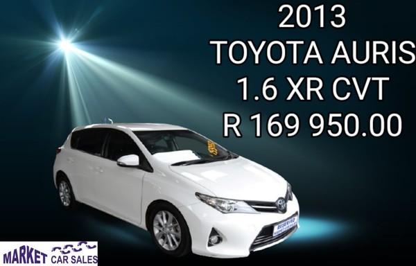 2013 Toyota Auris 1.6 Xr Cvt  Gauteng Johannesburg_0