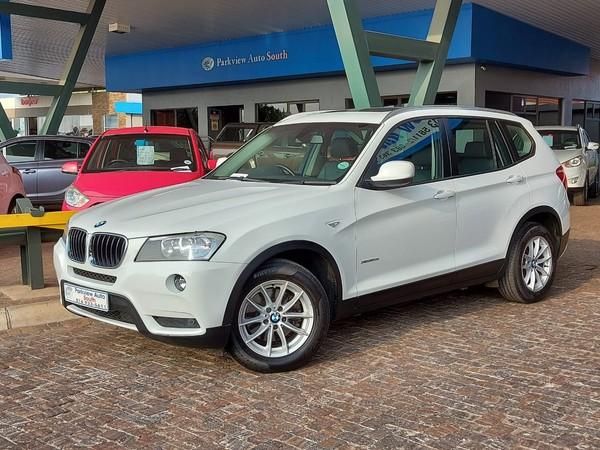 2012 BMW X3 Xdrive20i  At  Gauteng Vanderbijlpark_0