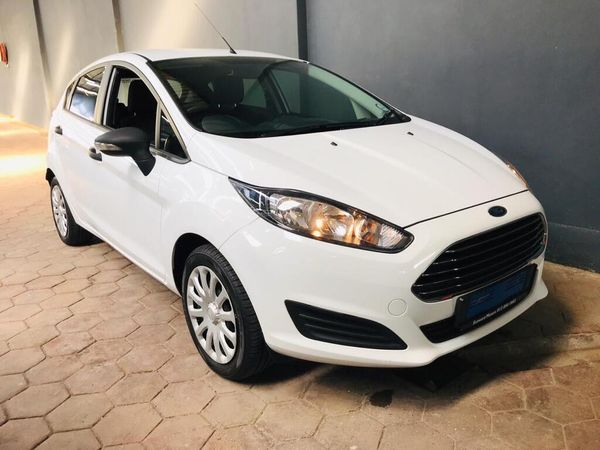 2014 Ford Fiesta 1.4 Ambiente 5-Door Gauteng Silverton_0