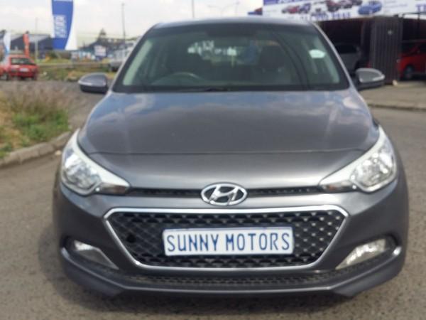 2015 Hyundai i20 1.4 Fluid  Gauteng Kempton Park_0