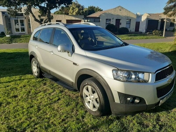 2011 Chevrolet Captiva 2.4 Lt  Western Cape Paarl_0