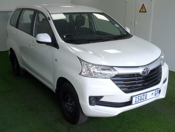 2019 Toyota Avanza 1.5 SX Auto Gauteng Kempton Park_0