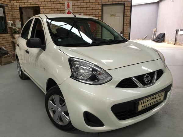 2017 Nissan Micra 1.2 Active With navigation  Free State Villiers_0