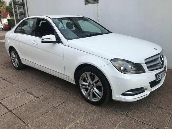 2014 Mercedes-Benz C-Class C200 Be Avantgarde At  Gauteng Germiston_0