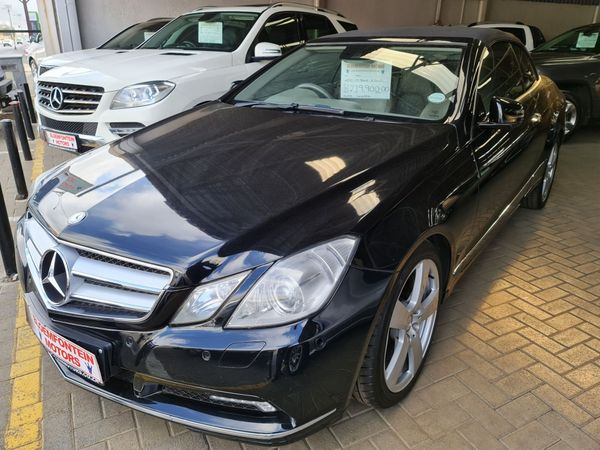 2010 Mercedes-Benz E-Class E 500 Cabriolet  Free State Bloemfontein_0