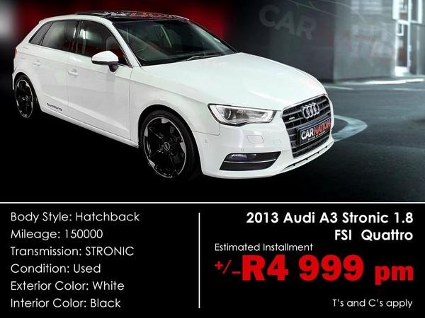 2013 Audi A3 1.8t Fsi Quattro Stronic  Western Cape Goodwood_0