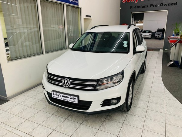 2016 Volkswagen Tiguan 2.0 Tdi Bmot Trend-fun  Eastern Cape Port Elizabeth_0