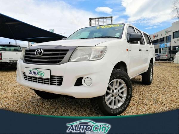 2013 Toyota Hilux 2.5d-4d Srx 4x4 Pu Dc  Western Cape Bellville_0