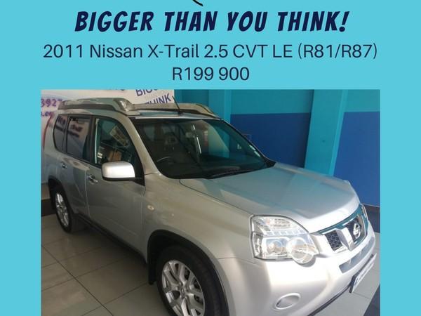 2011 Nissan X-Trail 2.5 Cvt Le r81r87  North West Province Klerksdorp_0