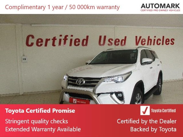 2018 Toyota Fortuner 2.8GD-6 4X4 Auto Free State Bothaville_0