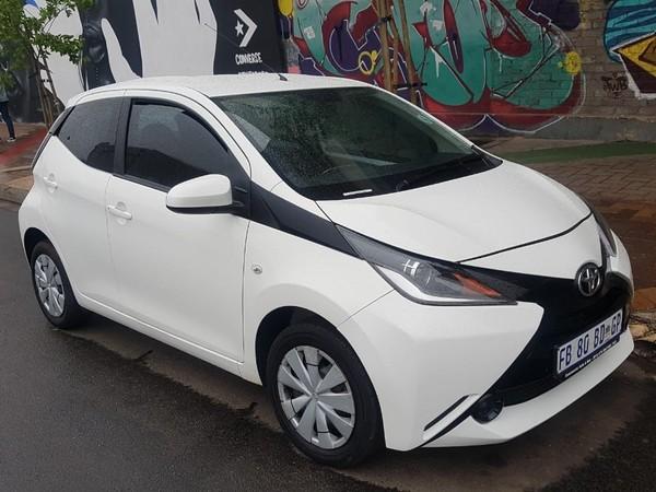2016 Toyota Aygo 1.0 X-Cite 5-Door Gauteng Johannesburg_0
