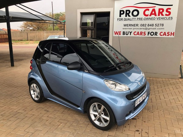 2011 Smart Coupe Pulse Mhd  Gauteng Pretoria_0
