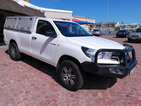 2017 Toyota Hilux 2.4 GD-6 SR 4X4 Single Cab Bakkie Western Cape Strand_0