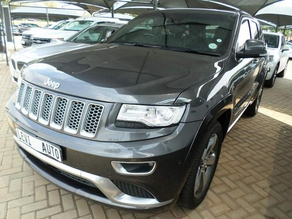 2016 Jeep Grand Cherokee 3.0L V6 CRD Summit Gauteng Pretoria_0