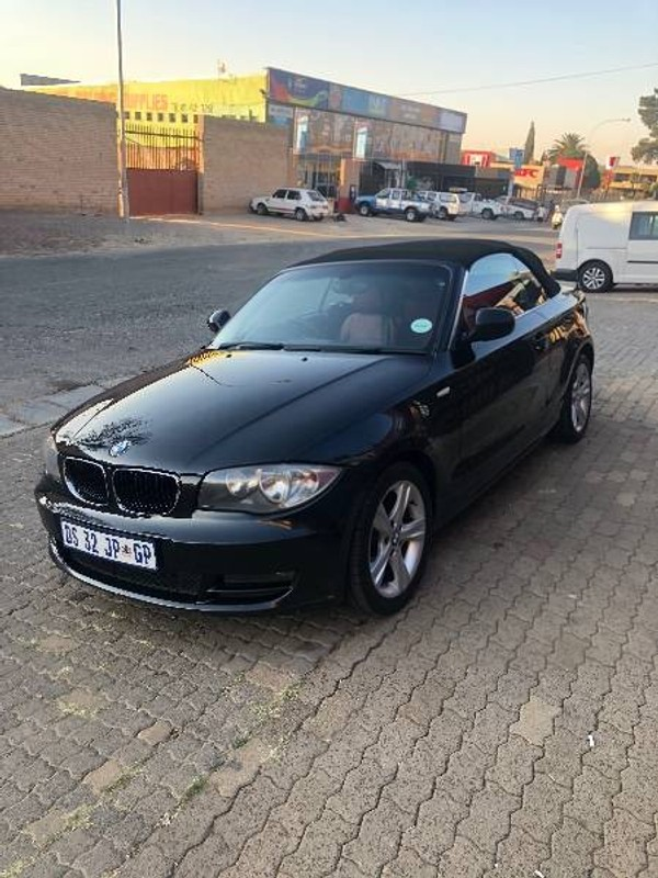 2010 BMW 1 Series 125i Convert Exclusive At  Gauteng Benoni_0