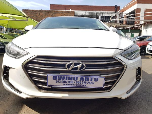 2018 Hyundai Elantra 2.0 Elite Auto Gauteng Johannesburg_0
