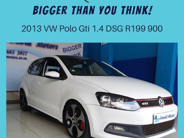 2013 Volkswagen Polo Gti 1.4tsi Dsg  North West Province Klerksdorp_0