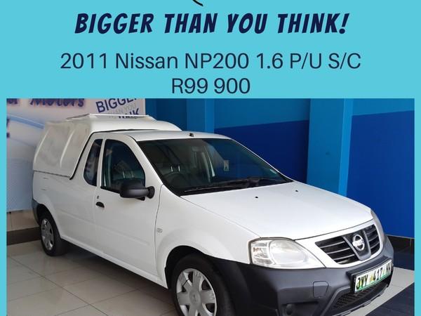 2011 Nissan NP200 1.6  Pu Sc  North West Province Klerksdorp_0