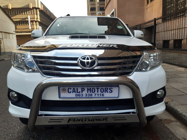 2014 Toyota Fortuner 2.5d-4d Rb At  Gauteng Marshalltown_0