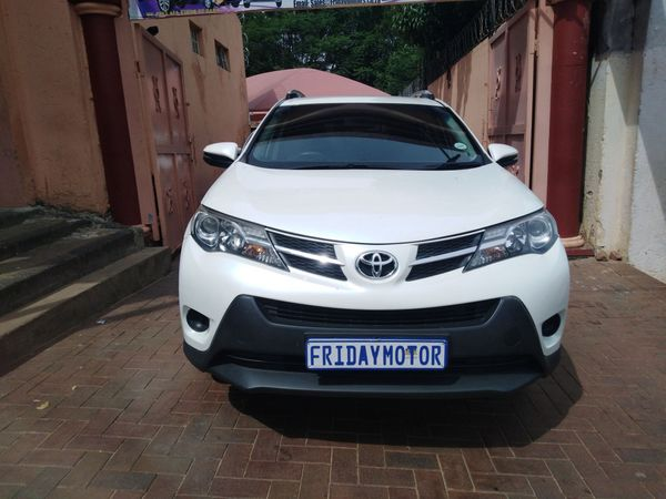 2014 Toyota Rav 4 Rav4 2.0 Gx  Gauteng Johannesburg_0