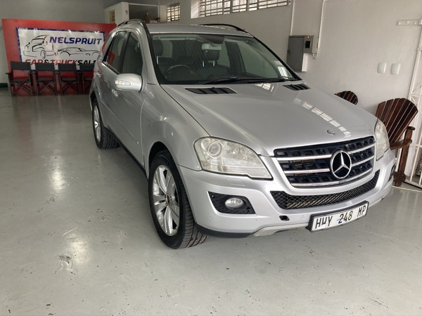 2010 Mercedes-Benz M-Class Ml 350 Cdi At  Mpumalanga Nelspruit_0