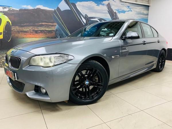 2016 BMW 5 Series 520d M SPORT AUTO SUNROOF XENONS FSH Gauteng Benoni_0