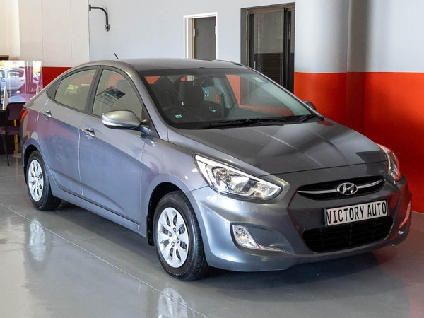 2016 Hyundai Accent 1.6 Glide AT with 44000km Western Cape Brackenfell_0