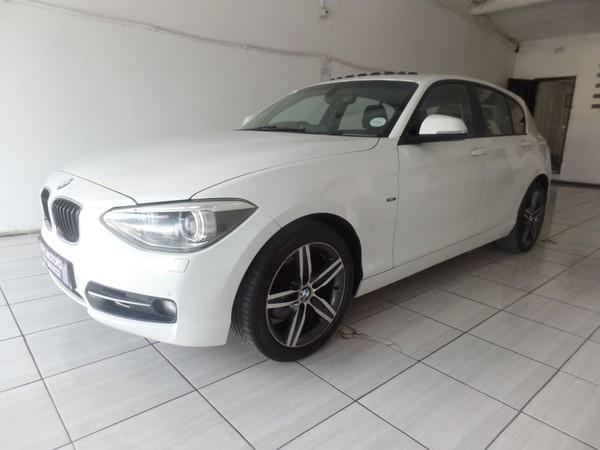 2013 BMW 1 Series 120d Sport Line 5dr f20  Gauteng Johannesburg_0