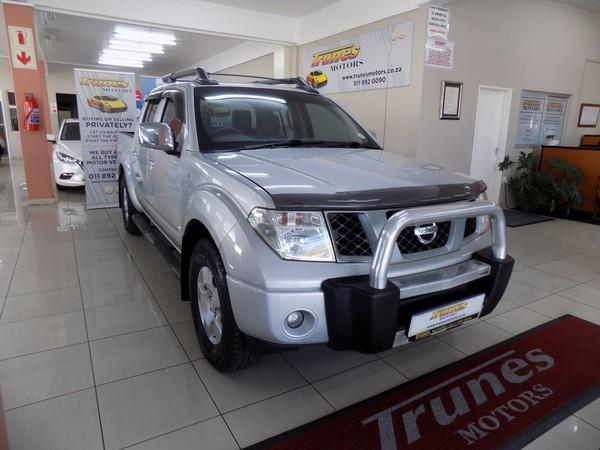 2010 Nissan Navara 2.5 Dci Se Pu Dc  Gauteng Boksburg_0