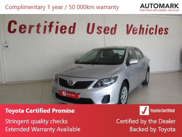 2019 Toyota Corolla Quest 1.6 Free State Bothaville_0