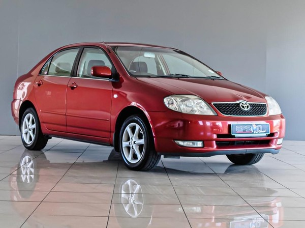 2003 Toyota Corolla 180i Gsx  Gauteng Nigel_0