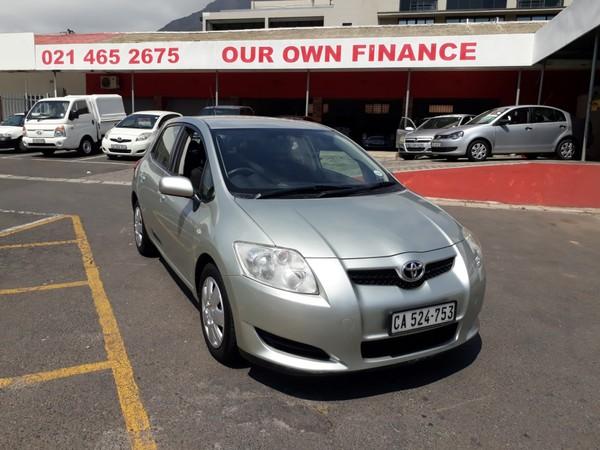 2008 Toyota Auris 160 Rt  Western Cape Cape Town_0