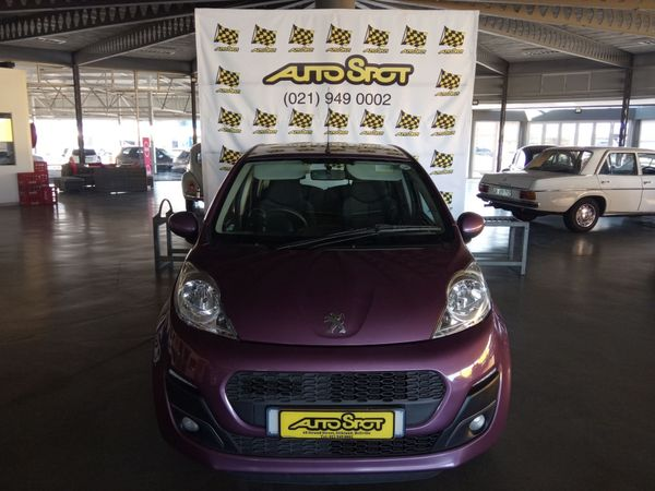 2013 Peugeot 107 Trendy  Western Cape Bellville_0