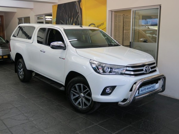 2017 Toyota Hilux 2.8 GD-6 RB Raider Extended Cab Bakkie Western Cape Paarl_0