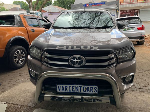 2017 Toyota Hilux 2.8 GD-6 RB Raider Extended Cab Bakkie Gauteng Johannesburg_0