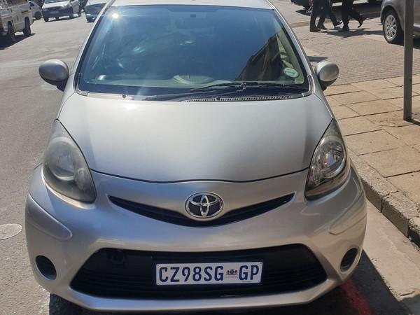 2013 Toyota Aygo 1.0 Fresh 5dr  Gauteng Johannesburg_0