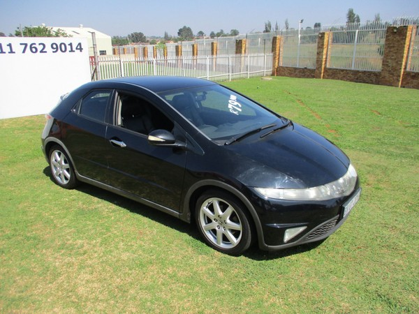 2007 Honda Civic 1.8i-vtec Exi 5dr  Gauteng Roodepoort_0