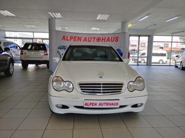 2001 Mercedes-Benz C-Class C 180 Elegance At  Western Cape Parow_0